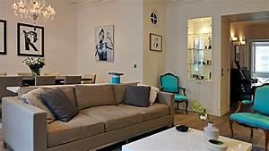 Deco Moderne Salon : d coration salon moderne taupe ~ Teatrodelosmanantiales.com Idées de Décoration
