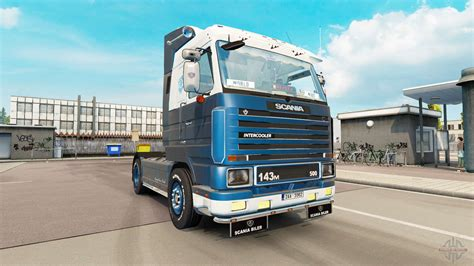 truck simulator 2 original scania 143m 500 v3 9 для truck simulator 2
