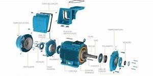 3-phase Induction Motor Parts