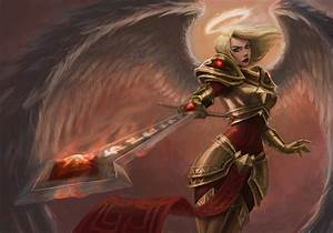 [Riot Art Contest] - Kayle — polycount