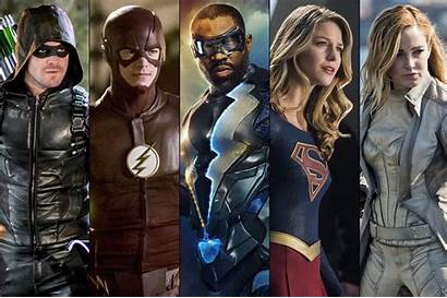 Cw Superheroes Wallpapers Flash Shows Arrow Supergirl