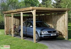 Abri Bois Pas Cher : abri jardin en bois pas cher 7 montage carport bois ~ Dailycaller-alerts.com Idées de Décoration