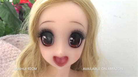 Sanhui 92cm Sex Doll With Japanese Animated Face Youtube
