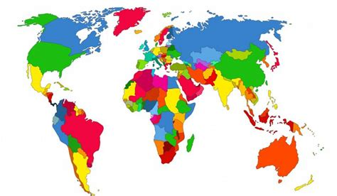 How Many Are In The World by How Many Countries Are There In The World Worldatlas
