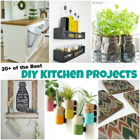 20 of the best diy kitchen projects to spruce up your home