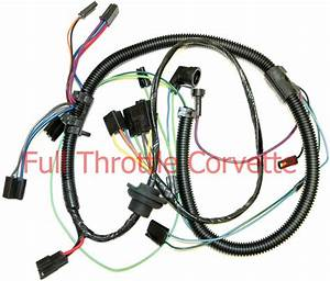 1979 Corvette Air Conditioning Ac Wiring Harness New