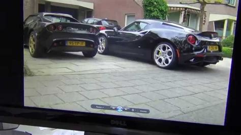 Black Alfa Romeo 4c And Black Lotus Elise