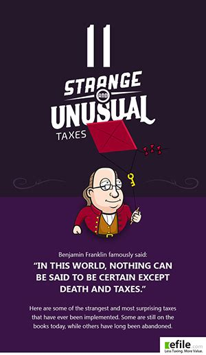 unusual strange funny taxes  history weird facts