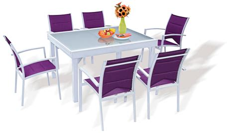 chaises de table ensemble table et chaise de jardin gifi advice for your