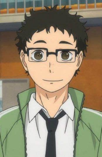 ittetsu takeda secondary character teacher  haikyuu