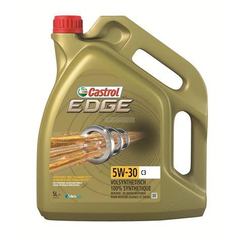 öl 5 w 30 castrol edge 5w30 c3 titanium huile moteur voiture