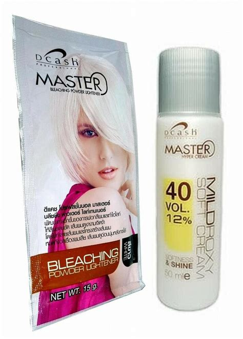 hair bleaching dye color plantinum lightener lightening