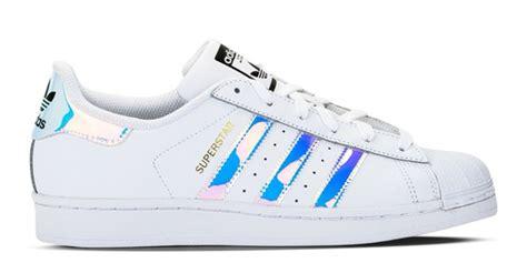 Adidas Superstar Holographic Stripes
