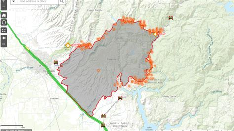camp fire interactive map ksnv