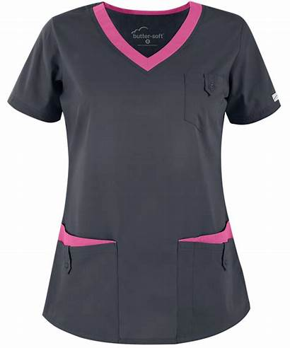 Scrub Butter Soft Tops Scrubs Ua Rounded