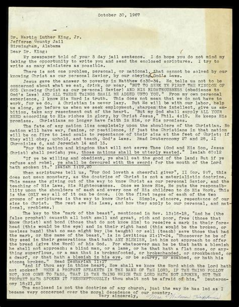 martin luther king jr letter from birmingham docoments