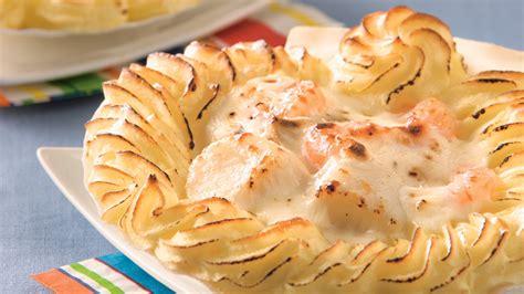 cuisine coquille st jacques coquilles jacques gratin 233 es recettes cuisine et
