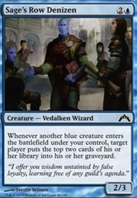 Mill Deck Mtg Commander by The Creature Mill Modern Mtg Deck