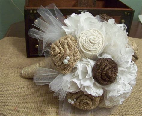 Rustic Chic Wedding Burlap And Lace By Sugarplumcottage On