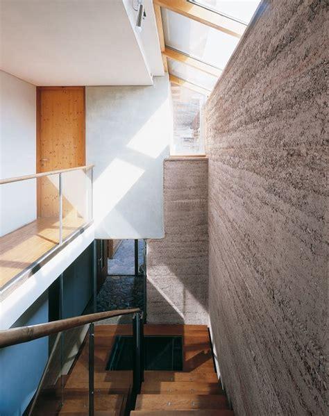 Moderne Haeuser Bauen Architektur Baustoffe Technik by Wohnhaus M Loam Clay Earth Martin Rauch Vorarlberg