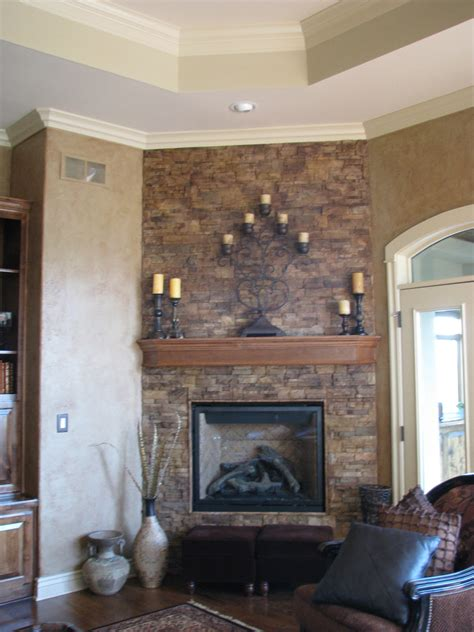 painted brick fireplace  easy home update magic brush