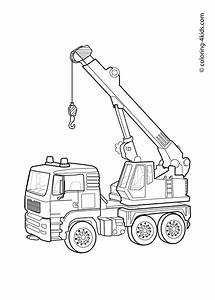 Bulldozer Coloring Pages to Print - Free Coloring Books