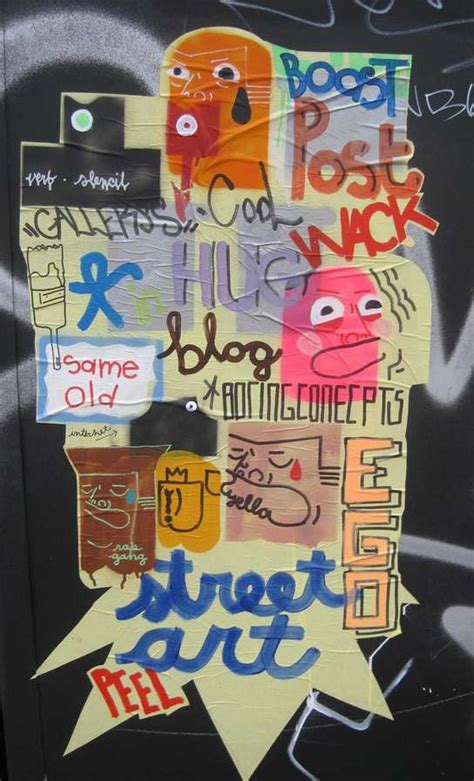 politically powerful street art cash  words simple