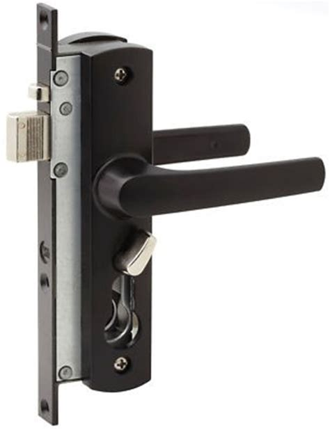 screen door locks whitco security screen door lock w892117 tasman mk2 black
