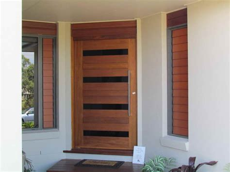 Wood Glass Door Design Ideas  Home Interior Design