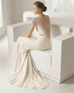 brautkleider mermaid vestidos de novia sencillos modelos modernos 2015