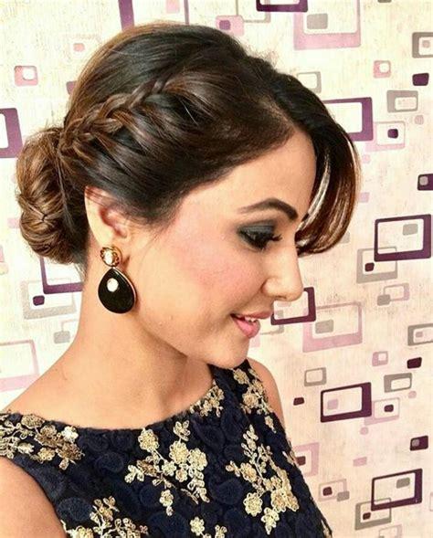 beautiful hairdo  saree   puff fastnewsfeed