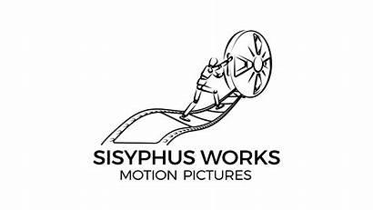 1080p Transparent Sisyphus Works Schrift Schwarz