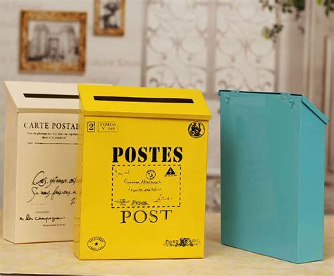 elegant vintage mtal bote aux lettres dcoration de jardin bote aux lettres bote aux lettres en