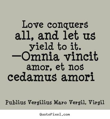 publius vergilius maro vergil virgil image quotes love