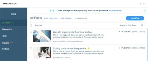How To Build A Blog With Wix