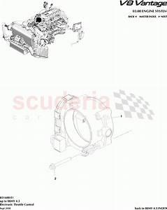 Aston Martin V8 Vantage Electronic Throttle Control Parts