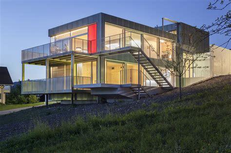 Die Besten Einfamilienhäuser by Leben Am Hang Moderne Einfamilienh 228 User
