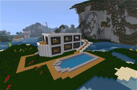 maison de luxe de construction minecraft