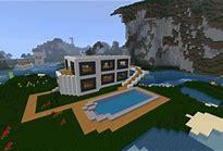 HD wallpapers minecraft construction maison moderne de luxe ...