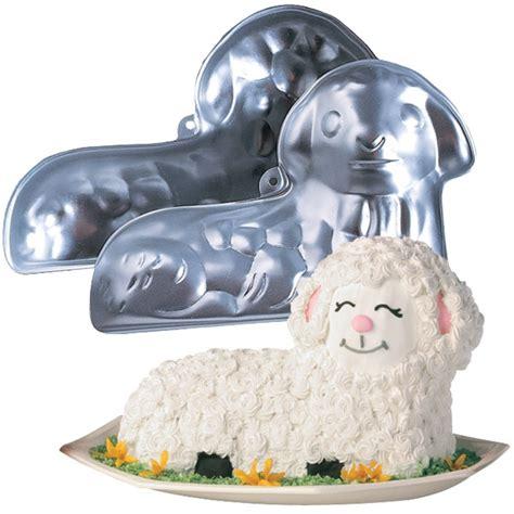wilton mold  easter lamb cake christmas