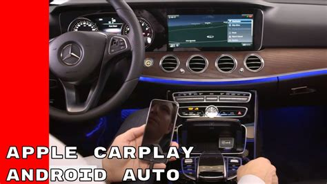 mercedes apple carplay  android auto youtube