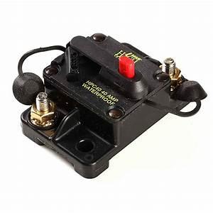Car Auto Marine Inline Circuit Breaker 40 Amp Manual Reset