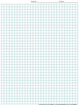 graph paper full page grid quarter  squares