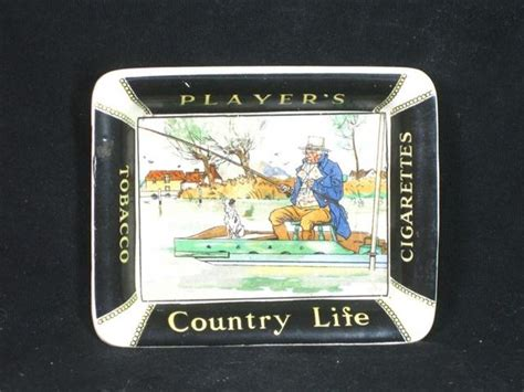shop stuff  ashtray players cigarettes country