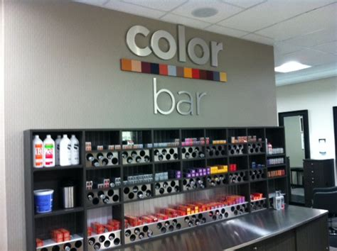 color bar salon portfolio