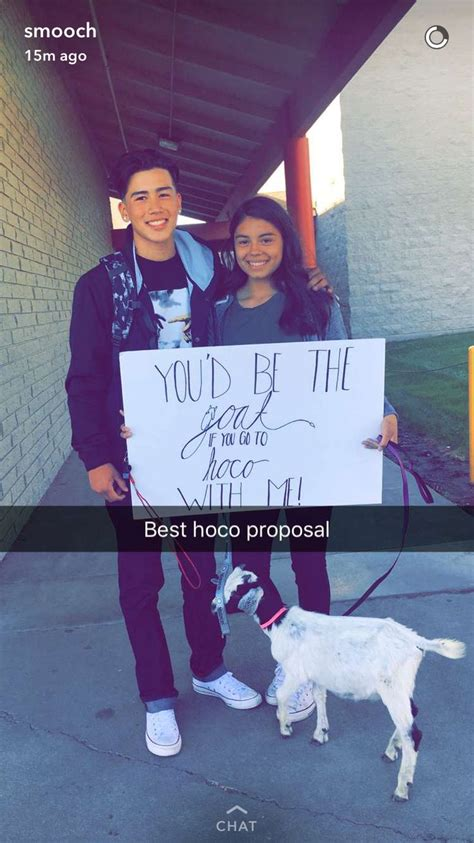 goat proposal  homecoming homecoming proposal prom