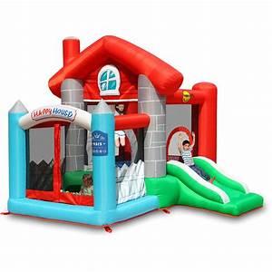 Aire De Jeux Extérieur Pas Cher : happy hop aire de jeux gonflable la maison joyeuse ~ Preciouscoupons.com Idées de Décoration