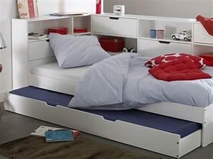 Lit 90x190 Avec Rangement : des lits modulables pour les enfants elle d coration ~ Teatrodelosmanantiales.com Idées de Décoration