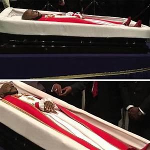 Bishop Eddie Long burial photos in $100,000 coffin ...