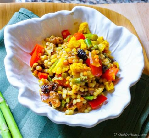 what is couscous made of curried israeli couscous recipe chefdehome com